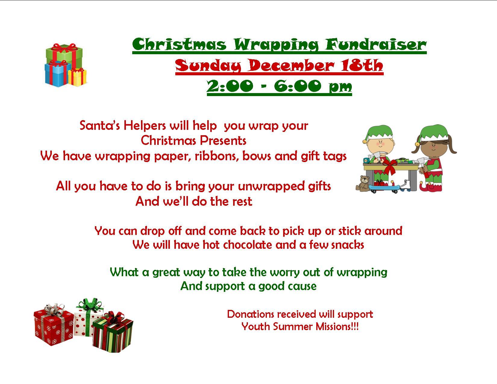 Christmas Gift Wrapping – St. Paul UMC Church in Lakeland TN ...